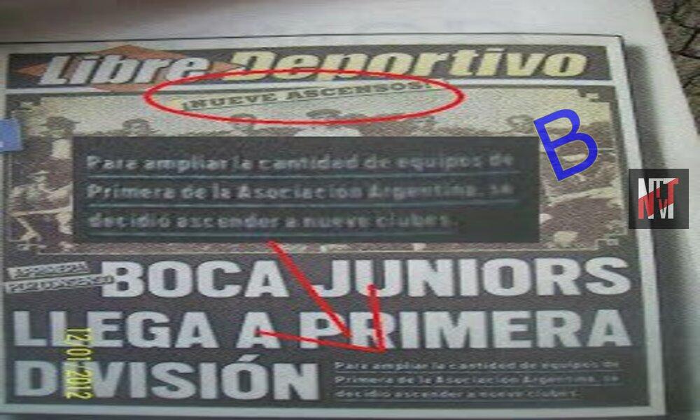 Porque Boca Juniors jugo 5 años en la B
