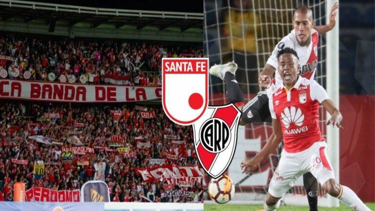 Independiente Santa Fe vs River Plate por Copa Libertadores 2021