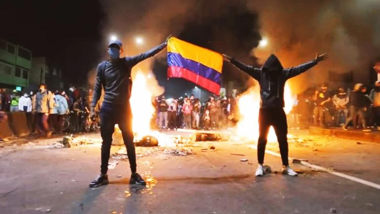 River viaja a Colombia, en plena crisis con muertos y heridos en protestas